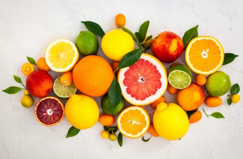 Citrus Fruits Can Provide Nutrients That Help Hair Growth